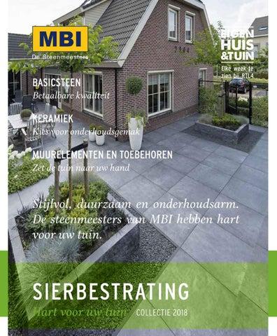Witte Terrastegels 40x40.Mbi Brochure 2018 Stenen Tegels Magazine Brochure By