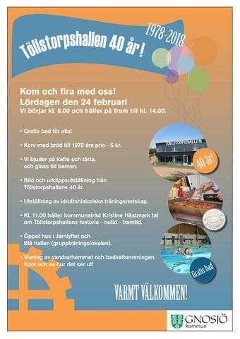 40 års tal gratis Töllstorpshallen 40 år by Hallpressen   issuu 40 års tal gratis