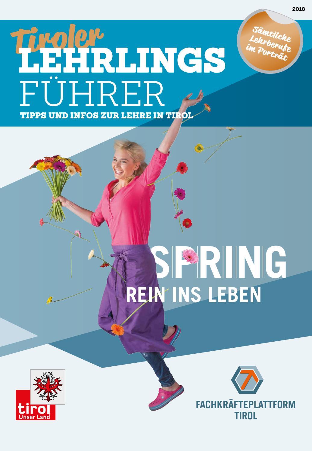Tiroler Lehrlingsführer (Februar 2018) by TARGET GROUP Publishing ...
