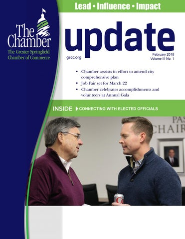 Update - February 2018 by The Greater Springfield Chamber of