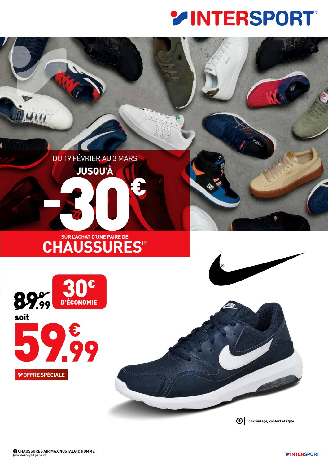 intersport chaussure,INTERSPORT Sp茅cial chaussures 12 pages