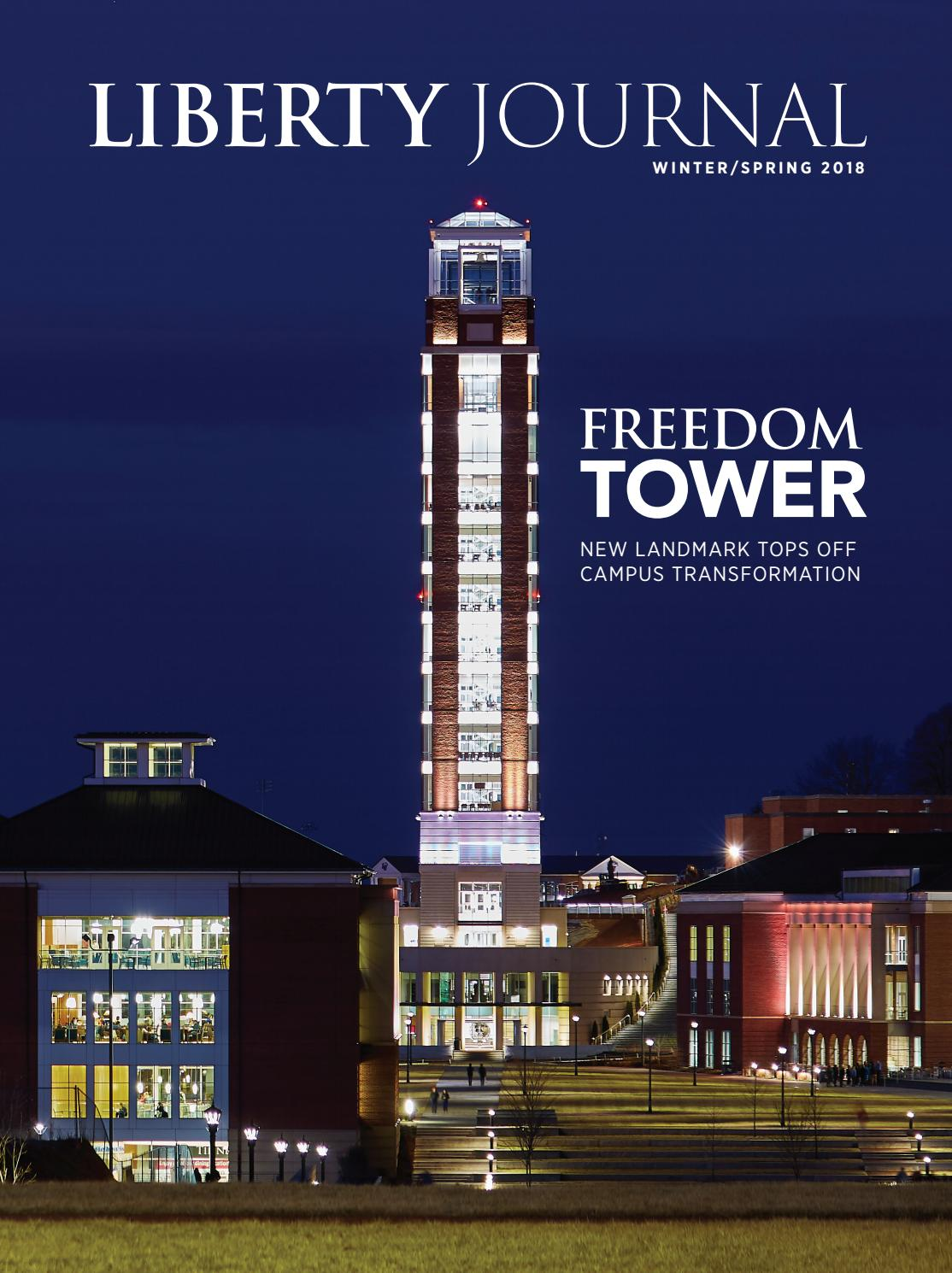 Liberty Journal Winter Spring 2018 by Liberty University - issuu 569bf2b31dc5a