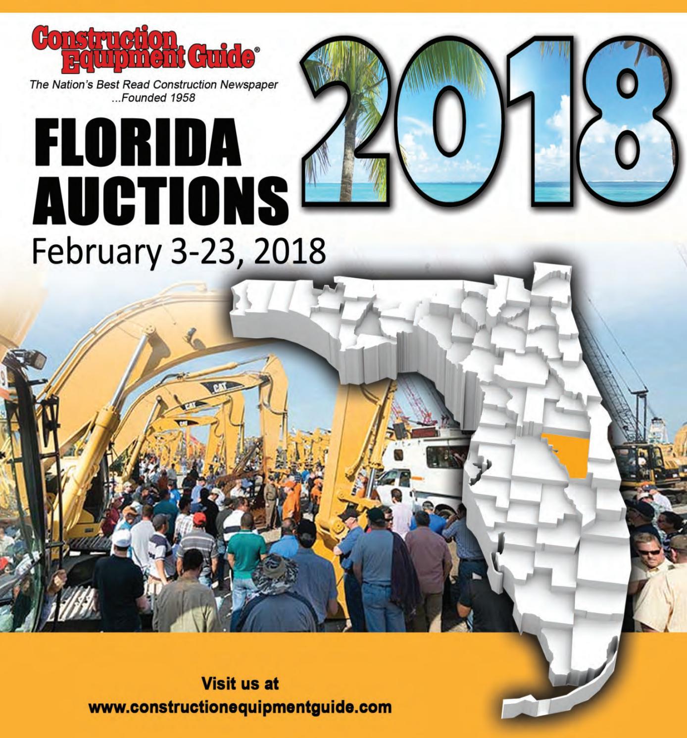 Florida Auctions 2018