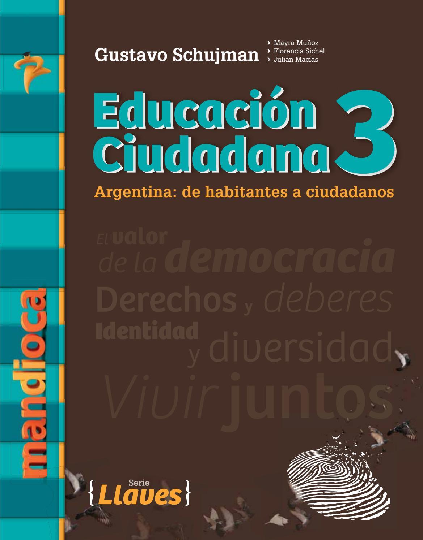 Llaves Educación Ciudadana 3 - Recorré el libro by Mandioca - issuu
