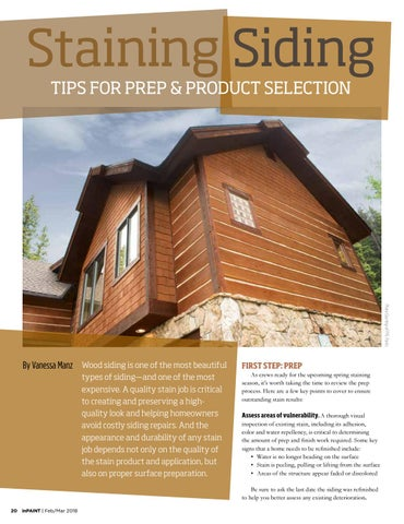 Page 20 of Staining siding: tips for prep & product selection