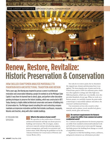 Page 34 of Historic preservation & conservation: challenges and unique requirements