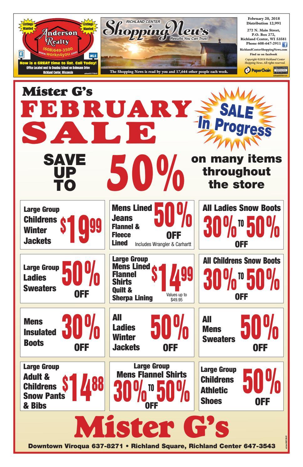 Richland Center Shopping News by Woodward Community Media - issuu