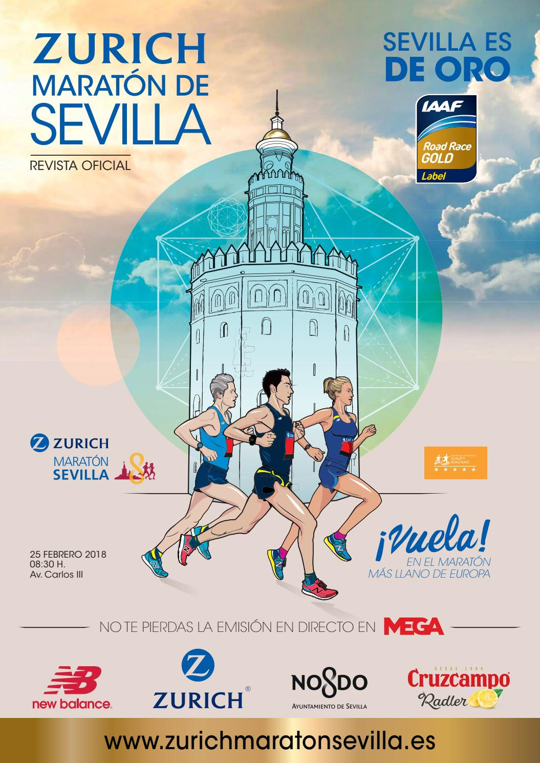 Revista oficial del Zurich Maratón de Sevilla 2018 by