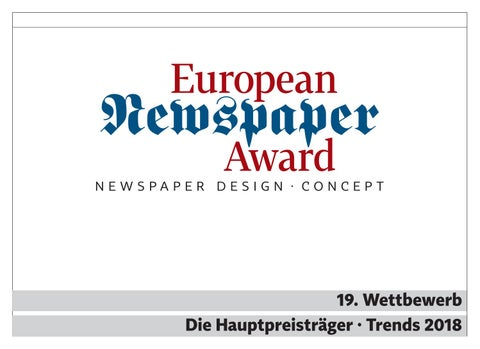 51ca761b604db 19. ENA Trends 2018 Print + Online by Norbert Kuepper - issuu