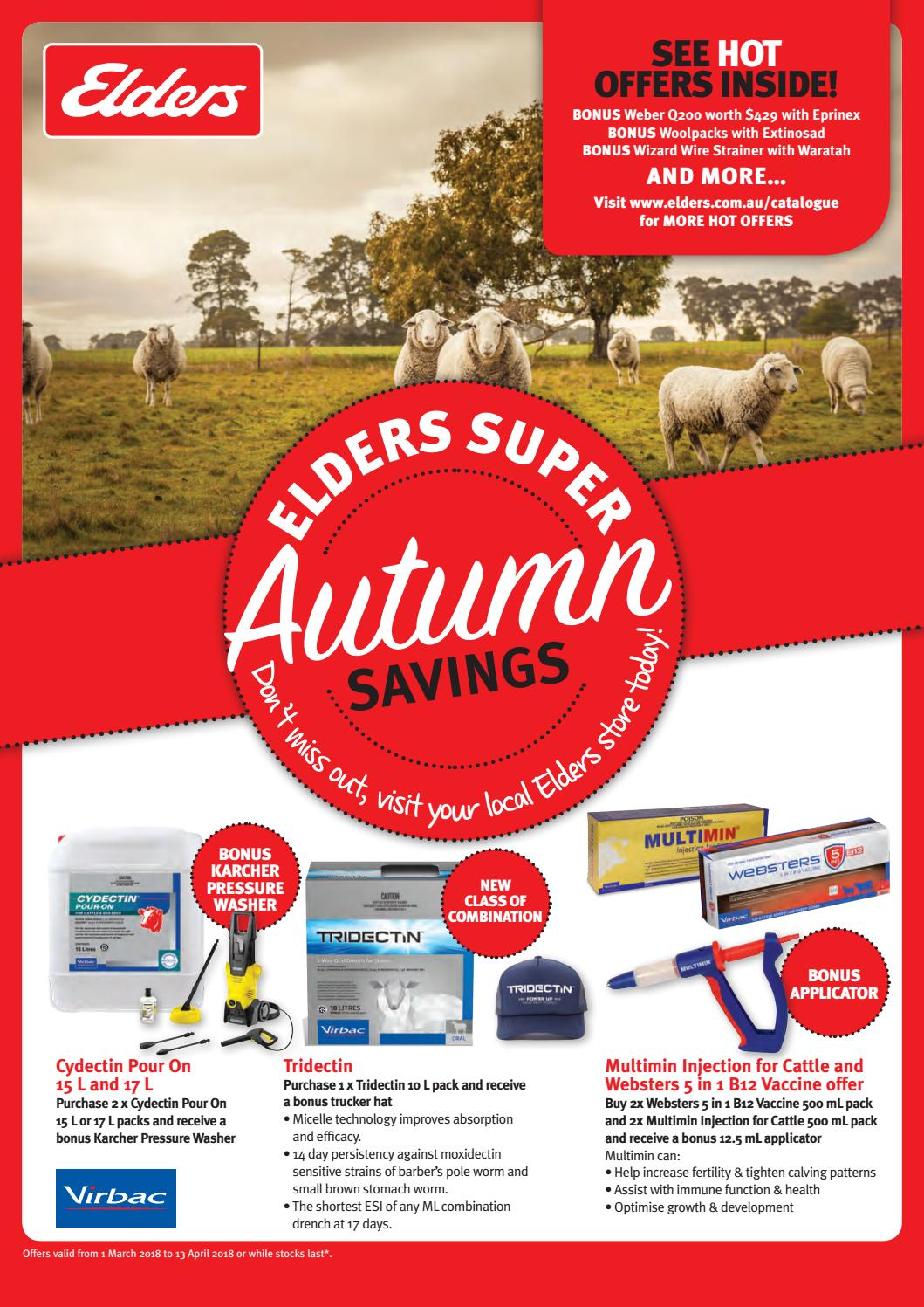 Elders Autumn Farm Supplies Catalogue 2018 by Elders Limited