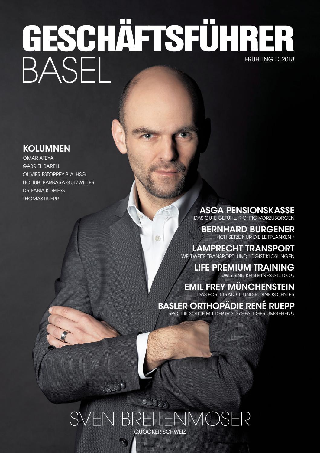 Geschäftsführer Basel 01/2018 by rundschauMEDIEN AG - issuu