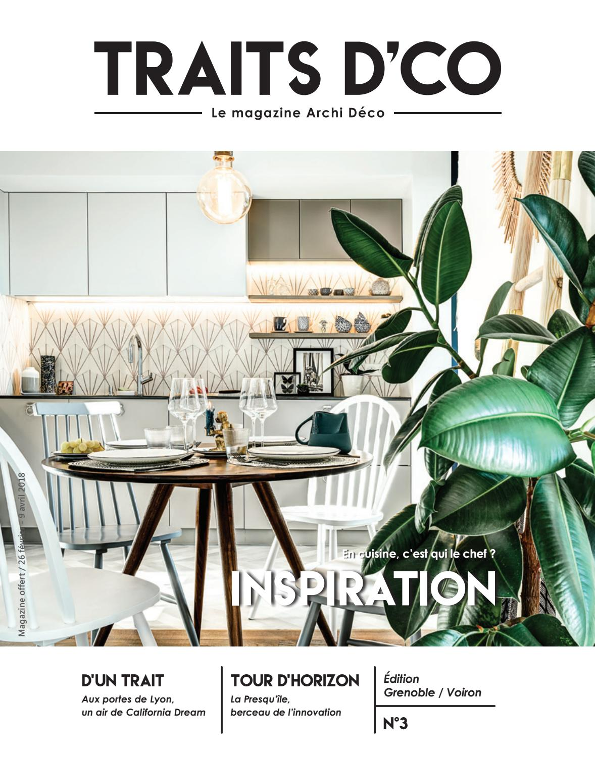 Traits Dco Magazine Grenoble Voiron N3 F Vrier 2018 By Traits D Co