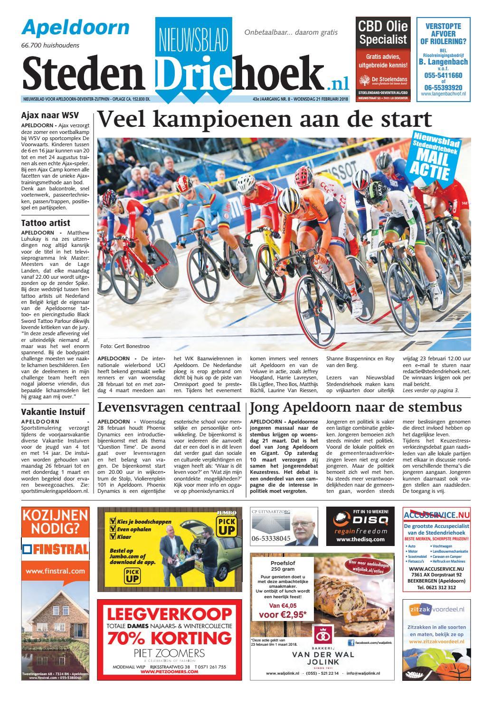 fee6df4716f Nieuwsblad stedendriehoek apeldoorn wk08 by Uitgeverij Stedendriehoek -  issuu