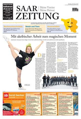 7aaeff73a272e Saarzeitung Regionalverband Saarbrücken 20.02.2018 by Saarbrücker ...