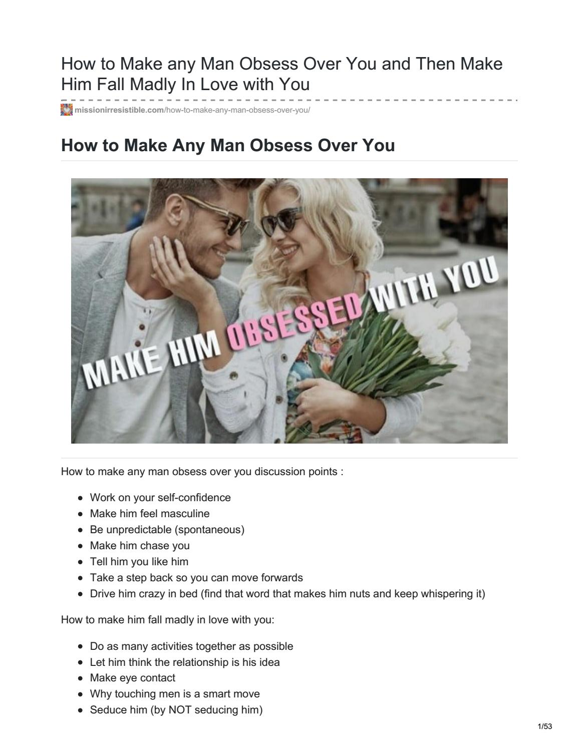 How to make him want a serious relationship