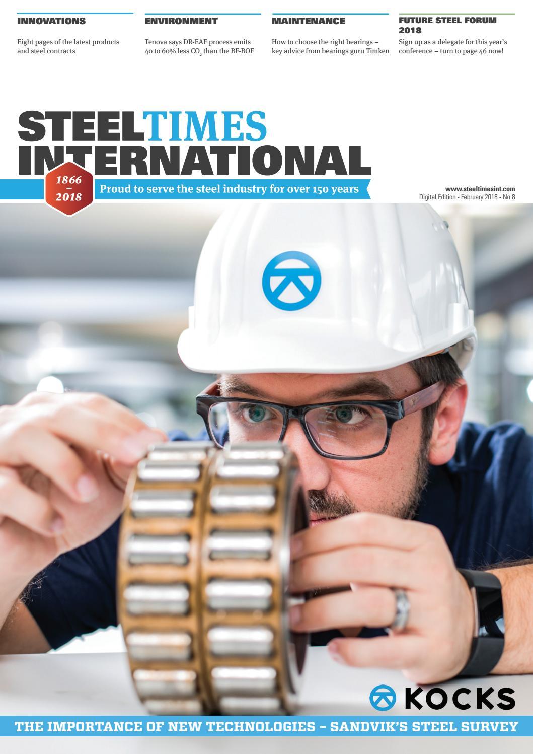 Steel Times International Digital February 2018 by Quartz Business