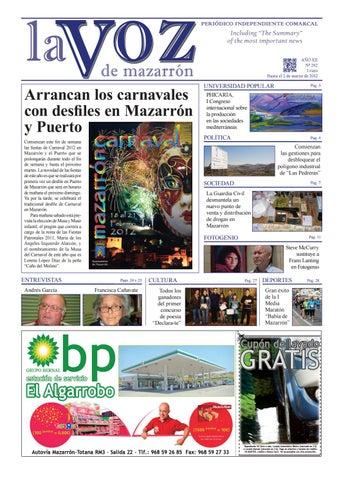 1625c759ee19f Arrancan los carnavales con desfiles en Mazarrón y Puerto Comienzan este  fin de semana las fiestas de Carnaval 2012 en Mazarrón y el Puerto que se  ...