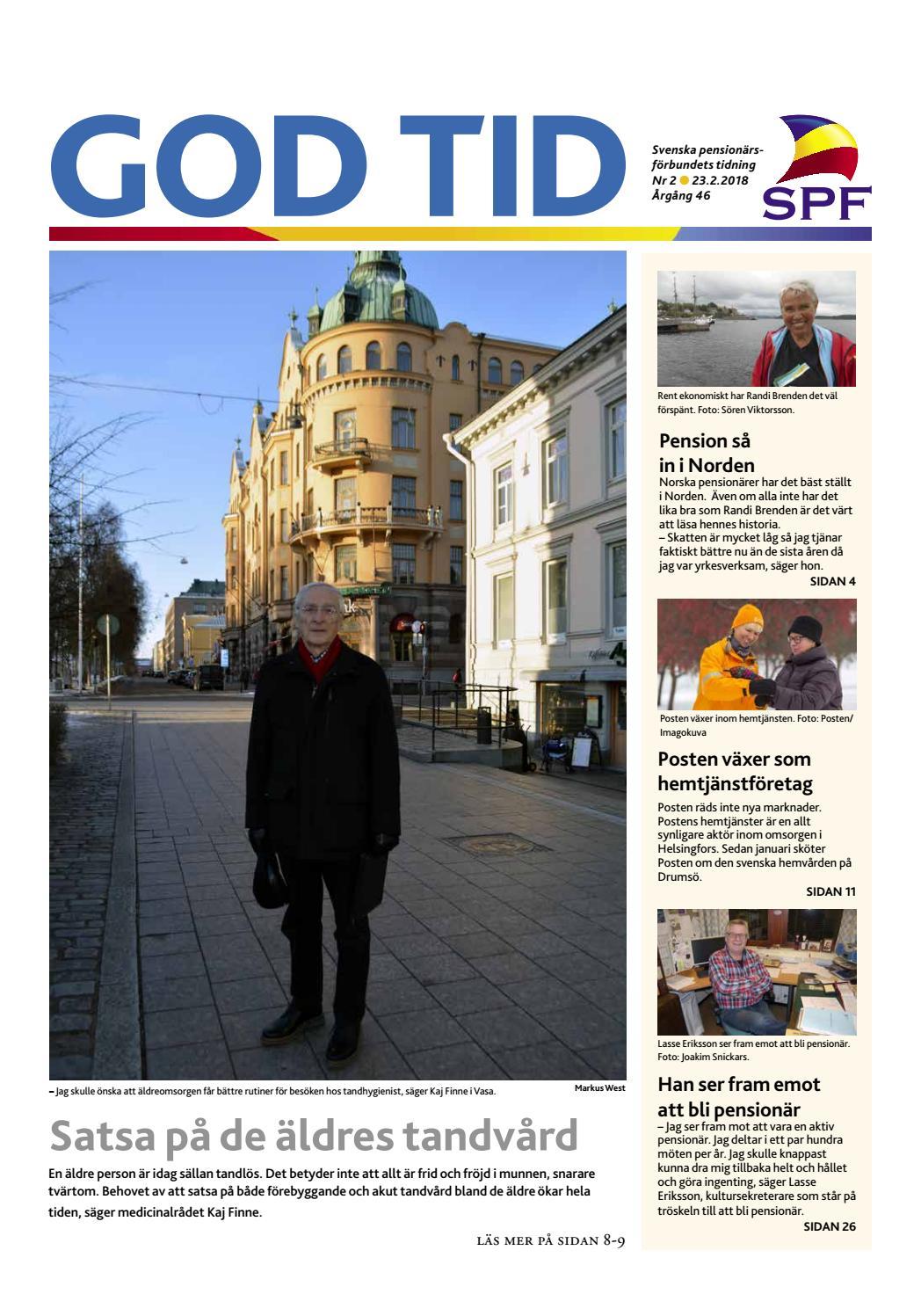 more photos 6d79e 6dd35 God tid 2 2018 by Svenska pensionärsförbundet, God Tid - issuu