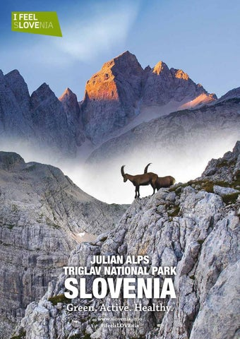 84e6b1f16a4 Julian Alps by Soča Valley Tourist Board - issuu