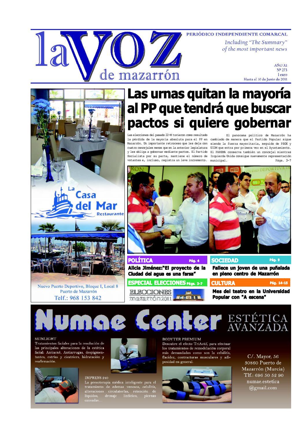 Voz273 by La Voz de Mazarrón (Periódico) - issuu