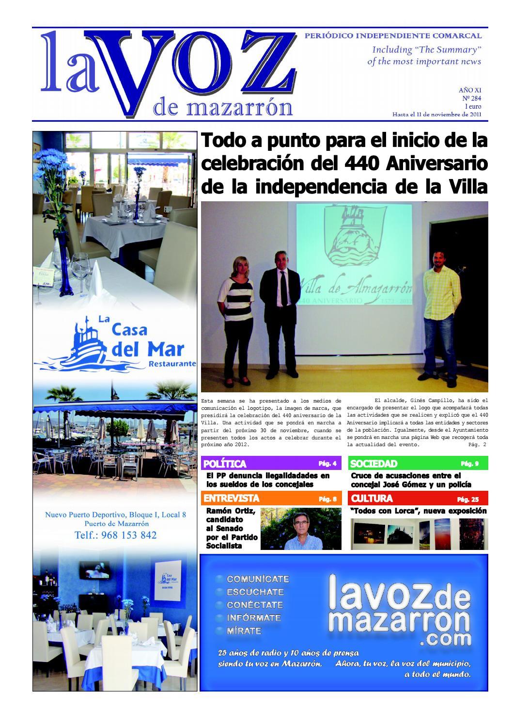 Voz284 by La Voz de Mazarrón (Periódico) - issuu 891855173d3