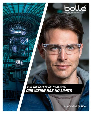 Bolle Viper II Smoke Glasses Tactical Eye Protection Electric Blue Nylon Frame