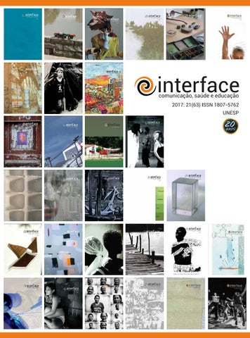 0e4533efaafd8 v.21 n.63, out. dez. 2017 by Revista Interface - issuu
