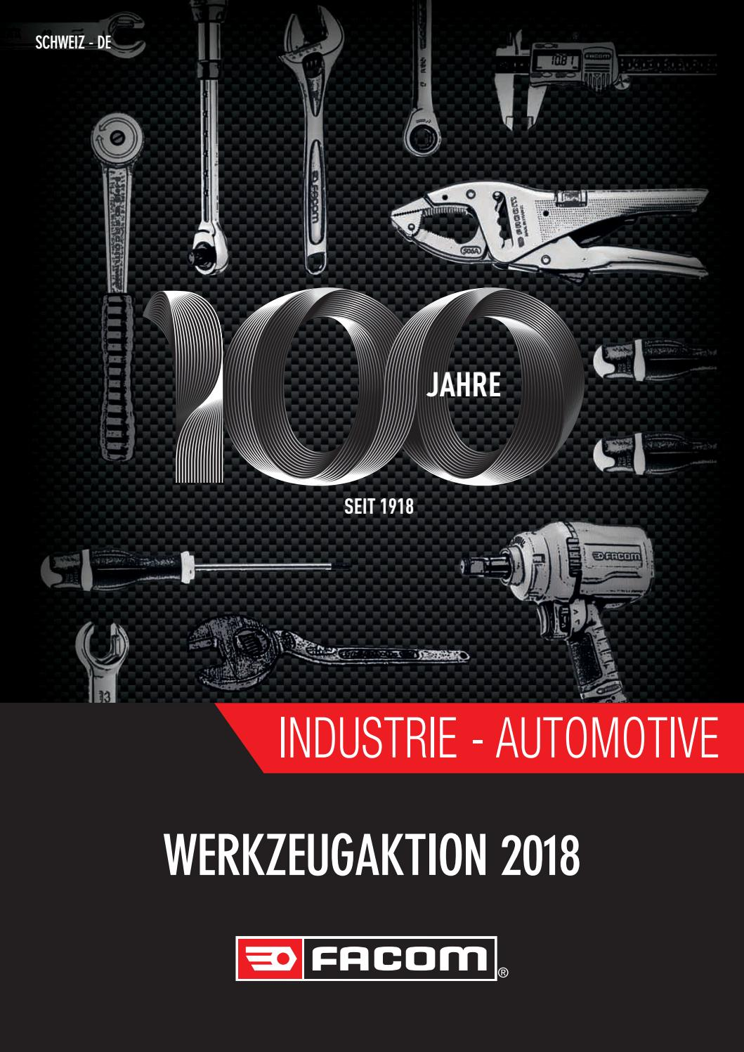 Facom Aktionen 2018 by Helatec GmbH 2544 Bettlach - issuu