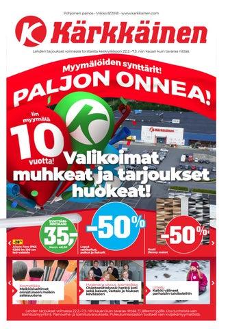 buy popular 5efa3 d8a96 Kärkkäisen mainos (8 2018) (P) by Tavaratalo J. Kärkkäinen Oy - issuu