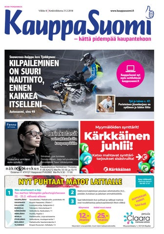 check out afc2d f11a9 KauppaSuomi 8 2018 (K-P) by KauppaSuomi - issuu
