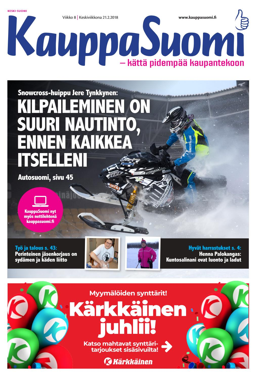 check out f62b4 39e5d KauppaSuomi 8 2018 (K-P) by KauppaSuomi - issuu