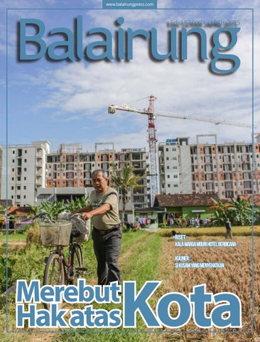 Majalah Balairung Edisi 52: Merebut Hak atas Kota by BPPM