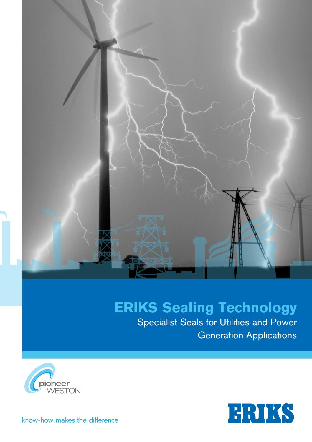 Sealing Technology Utilities And Power Generation By Eriks Uk Oring Sil Seal 110 Ireland Issuu