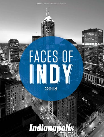 Indianapoilis Monthly presents: Faces Of Indy 2018 by
