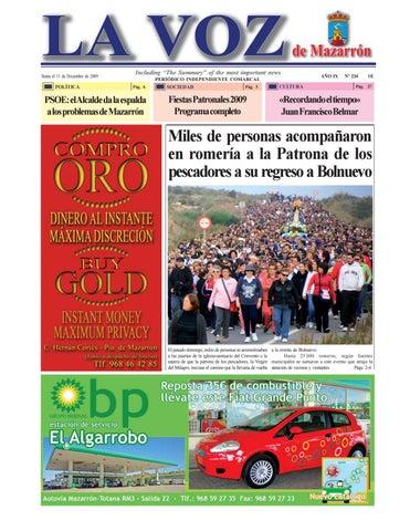 Voz234 by La Voz de Mazarrón (Periódico) - issuu 1af616cc924