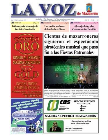 Voz Voz235 La By De MazarrónperiódicoIssuu Y6I7vbfgy