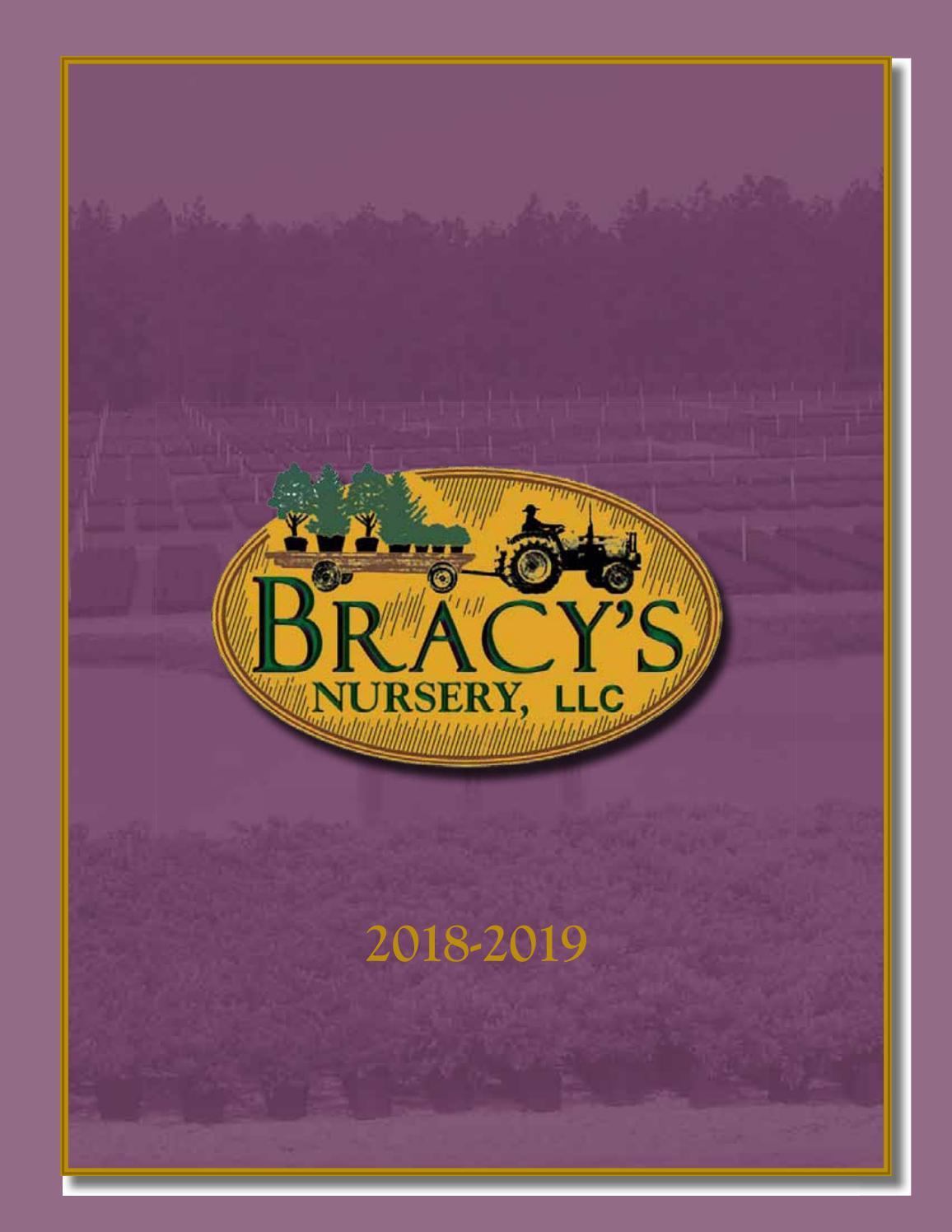 Bracy's 2018-19 Catalog by Bracy's Nursery - issuu