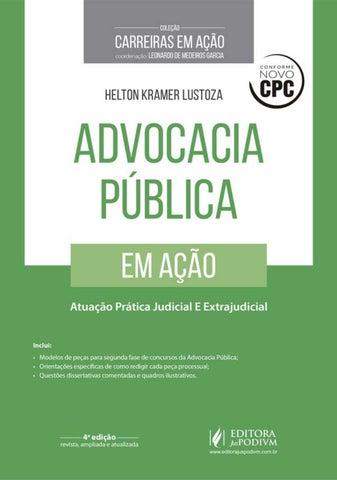 Advocacia pública em ação atuação prática judicial e extrajudicial ... a94fdfcdaa