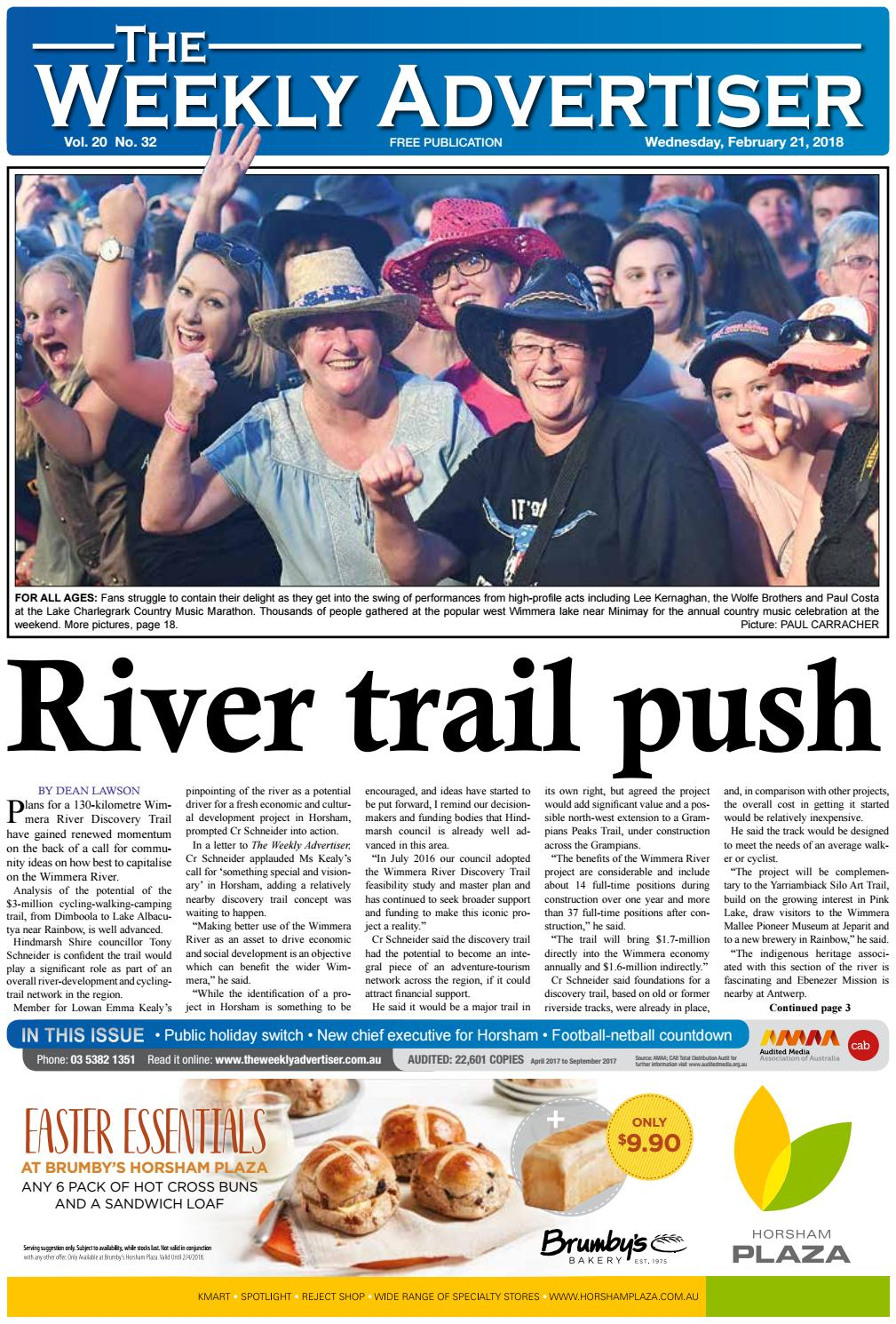 The Weekly Advertiser Wednesday February 21 2018 By The Weekly