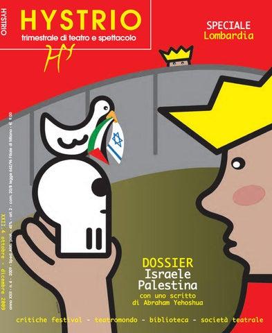 Hystrio 2009 4 ottobre-dicembre by Hystrio - issuu c5a04176507
