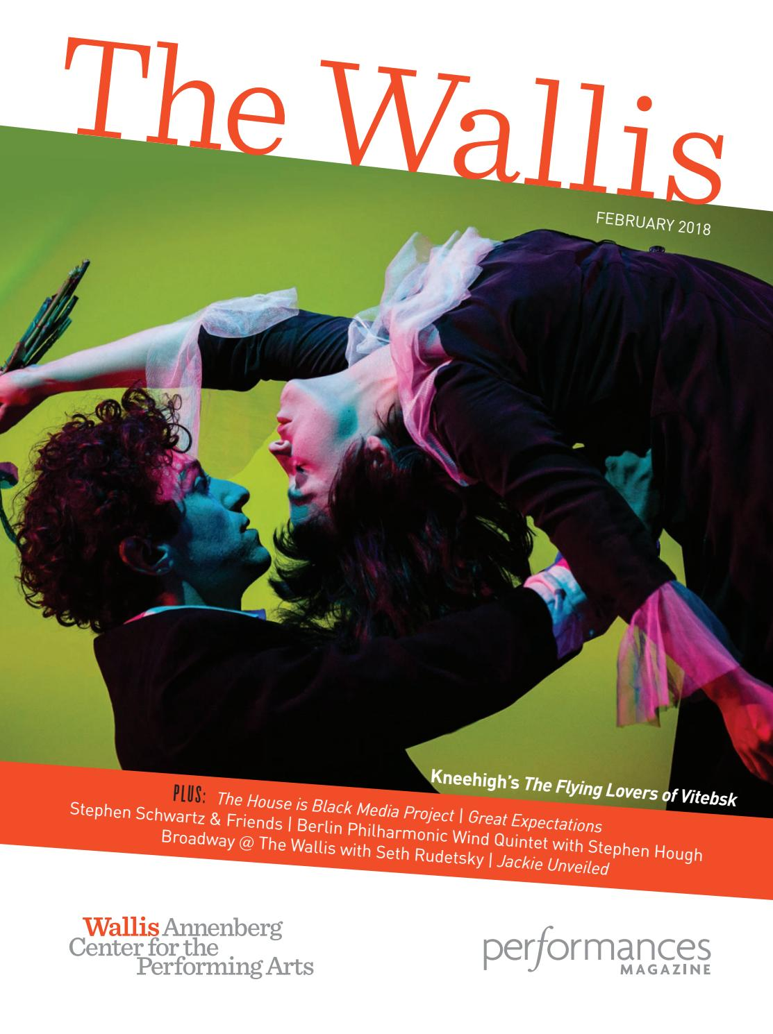 Performances Magazine: The Wallis, February 2018 by