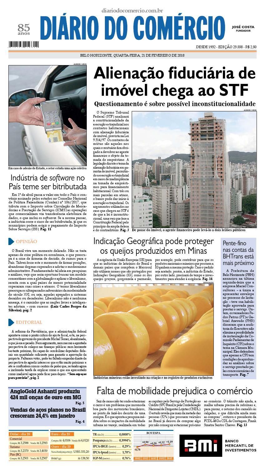 23558 by Diário do Comércio - Belo Horizonte - issuu 2db5ad042fb