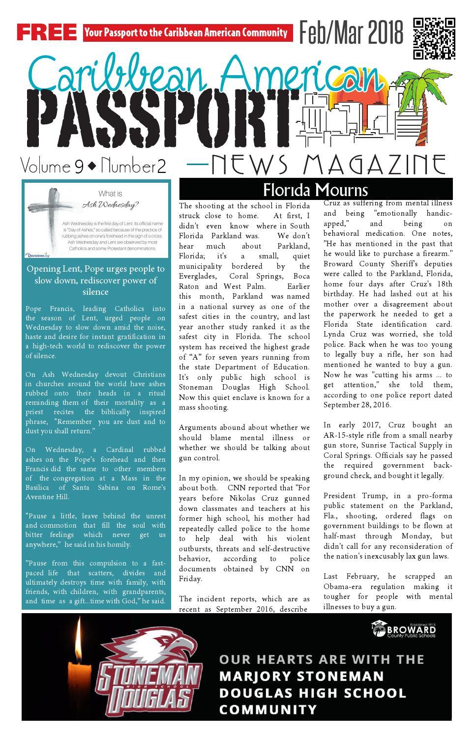 Caribbean American Passport News Magazine - February 2018 by ...