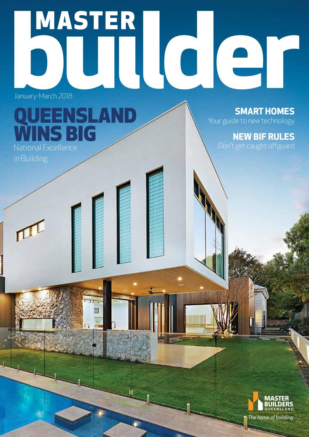 Master Builder magazine - Jan-Mar 2018 by Master Builders Queensland ...