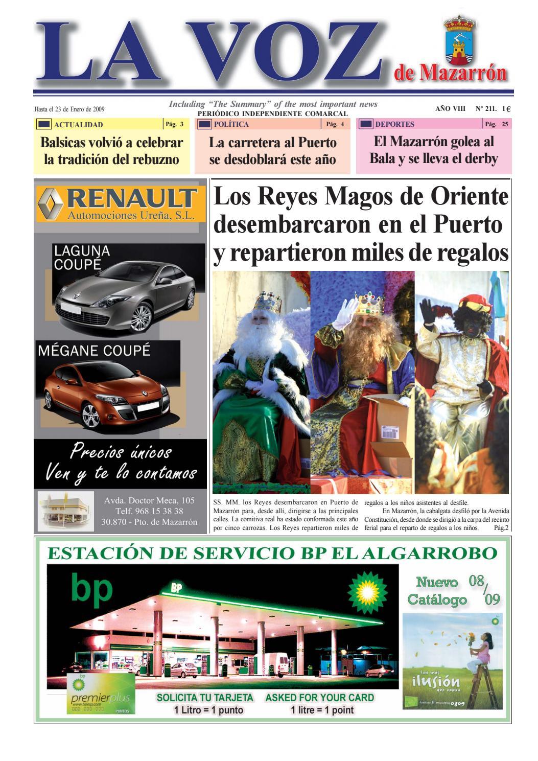Voz211 by La Voz de Mazarrón (Periódico) - issuu