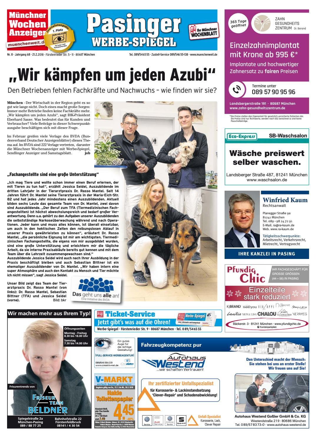 KW 08 2018 by Wochenanzeiger Medien GmbH issuu