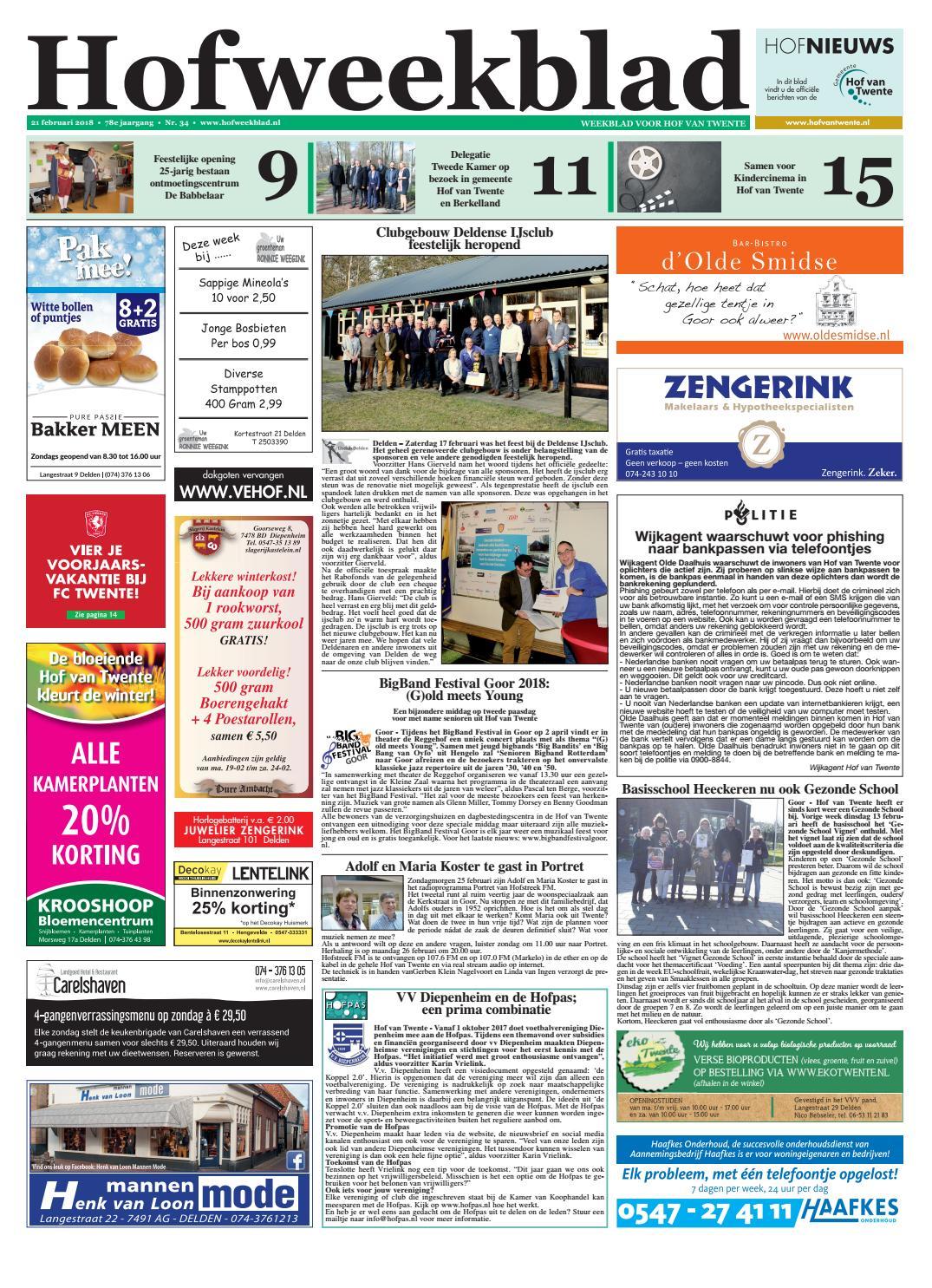 d80b62ee979 Hofweekblad week 08 18 by Regionale Uitgeversgroep - issuu
