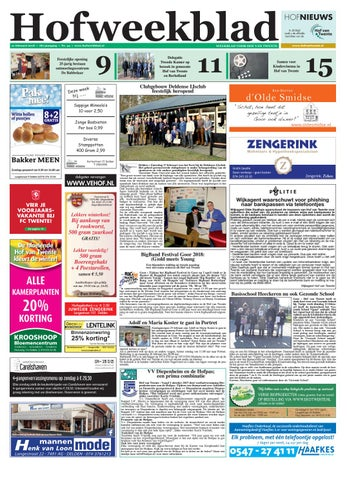 f2595943525a7f Hofweekblad week 08 18 by Regionale Uitgeversgroep - issuu