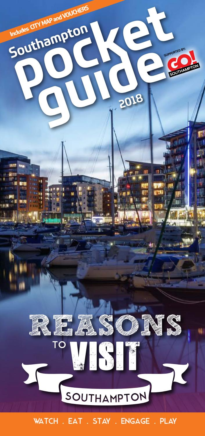 The Southampton Pocket Guide 2018 By The Marketing Collective Issuu