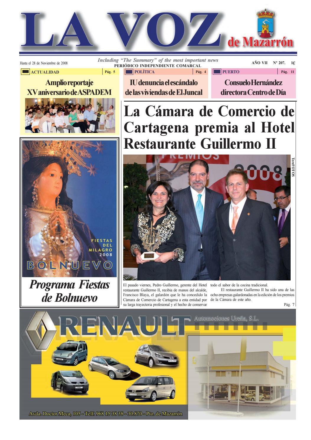Voz207 by La Voz de Mazarrón (Periódico) - issuu
